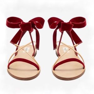 *SALE* closet cleaning - VALENTINO Velvet Sandal